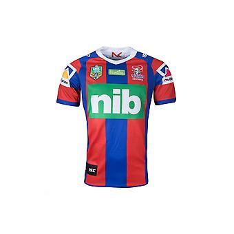 ISC Newcastle Knights NRL 2018 hjem S/S Rugby Shirt