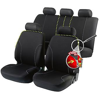 Allessandro car seat cover Zipp-It -, Black For Opel VECTRA C GTS 2002-2008