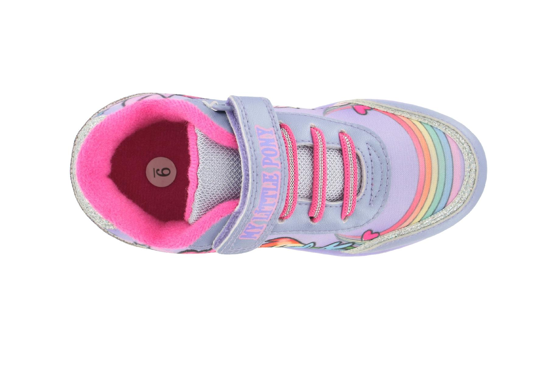 Girls MLP My Little Pony Lilac Trainers Joggers Sports Shoes UK Sizes 6 - 12