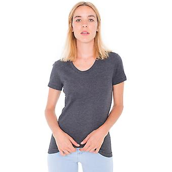 American Apparel Womens/Ladies Polycotton Short Sleeve T-Shirt