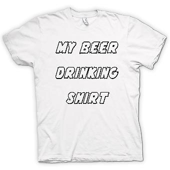 Womens T-shirt - My Beer Drinking Shirt - Funny