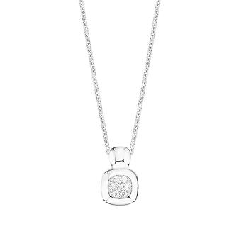 s.Oliver jewel ladies necklace Zyrkonia rectangle 2012510