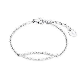 s.Oliver jewel ladies Bangle silver cubic zirconia 2018627