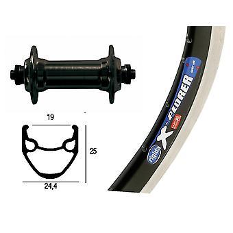 Bike parts 26″ wheel Rigida X-Plorer + standard hub ALU (QR)