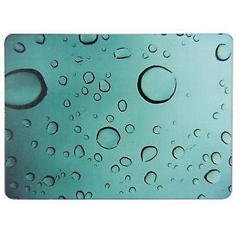 28x38cm Water Droplets Glass Worktop Saver Protector Chopping Cutting Board