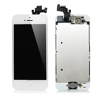 For iPhone 5 - Complete LCD Screen - White - High Quality | iParts4u