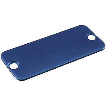 End cover Aluminium Blue Hammond Electronics 1455JALBU-10 1 pc(s)