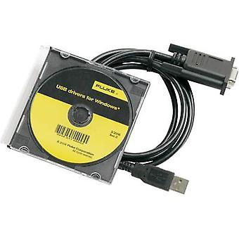 Cable de interfaz Fluke calibración 884 X-Fluke 884 X cable USB-USB interfaz, Compatible con (detalles) Fluke 8808A, Fluke 8845A, Fluke 8846A 2675479