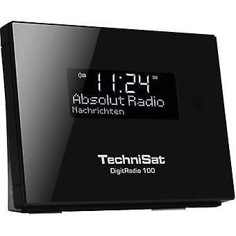 TechniSat DigitRadio 100 DAB + Radio Adapter Bluetooth, DAB +, UKW-Black