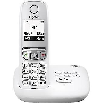 Gigaset A415A Cordless analogue Answerphone, Hands-free White