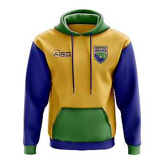 Christmas Island Concept Country Football Hoody (Yellow)
