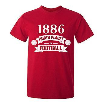 Nacimiento de arsenal de la camiseta de Futbol (rojo)
