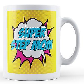 Super Step Mom Pop Art Mug - Printed Mug