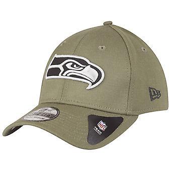 New era 39Thirty Cap - NFL Seattle Seahawks olive