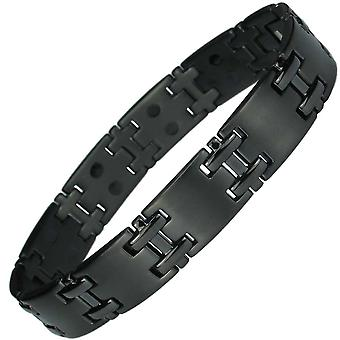 MPS® JON Black Titanium Magnetic Bracelet for Men
