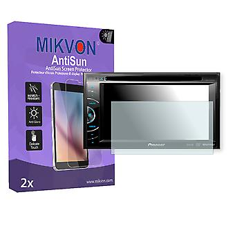 Pioneer AVH-X2500BT Screen Protector - Mikvon AntiSun (Retail Package with accessories)