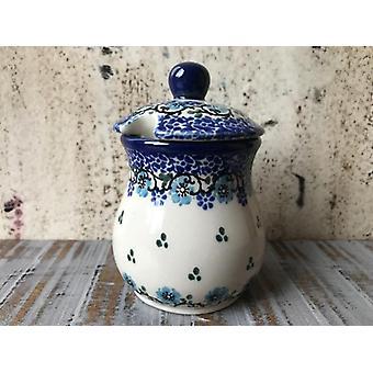 Mustard pot, 200 ml, ↑11 cm, Royal Blue, BSN A-0680