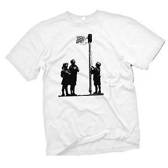 Kids T-shirt - Banksy Graffiti Art