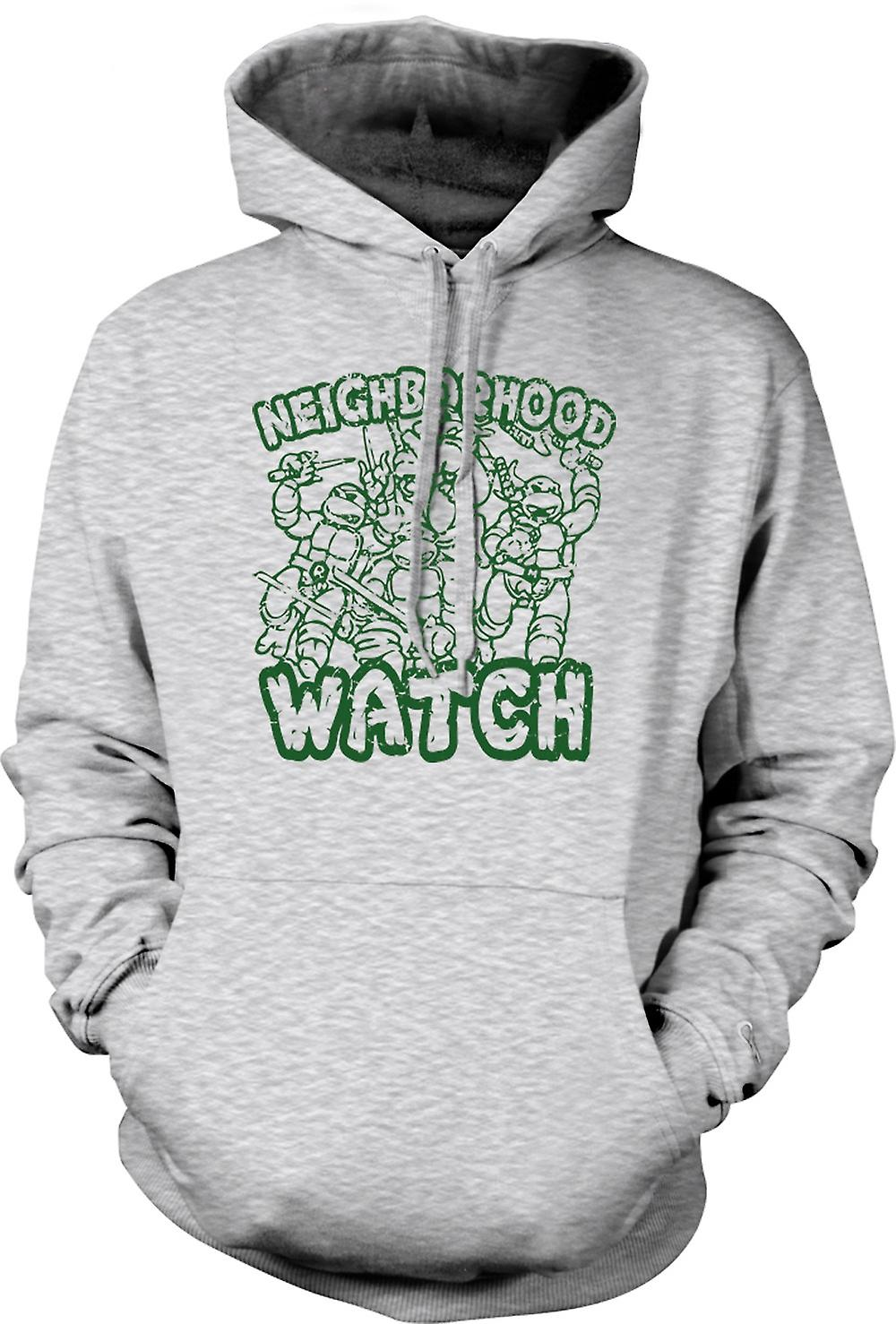 Mens Hoodie - Teenage Mutant Ninja Turtles - Neighborhood Watch
