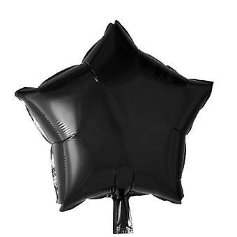 "Folieballong Black Star-46 cm (18 "")"