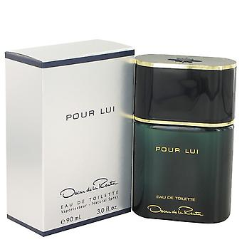 Oscar Pour Lui by Oscar de la Renta Eau De Toilette Spray 3 oz / 90 ml (Men)