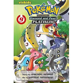 Pokemon Adventures Diamond & Pearl Platinum 9