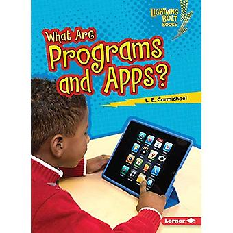 What Are Programs and Apps? (Lightning Bolt Books Our Digital World)