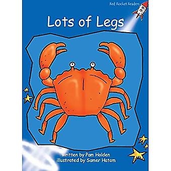 Lots of Legs: Level 3: Early (Red Rocket Readers: Fiction Set A)
