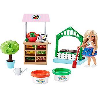 Barbie FRH75 carrière Veggie tuin Playdoh Chelsea Doll