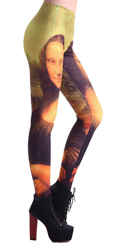Waooh - Mona Lisa Print Legging Tauc