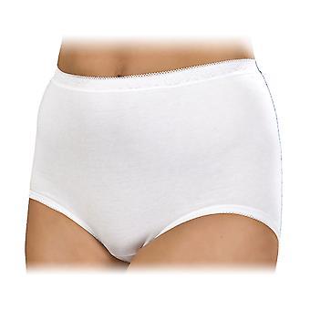 La Marquise Womens bomull Maxi truser undertøy (pakke med 3)