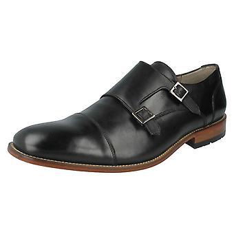 Herren Clarks elegante Schuhe Penton Mönch