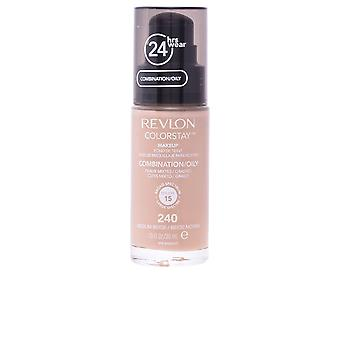 Revlon Colorstay Combination Oily Skin 240 Medium Beige 30ml Womens New