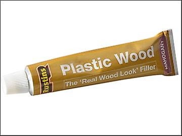 Rustins Plastic Wood Tube Mahogany 125ml