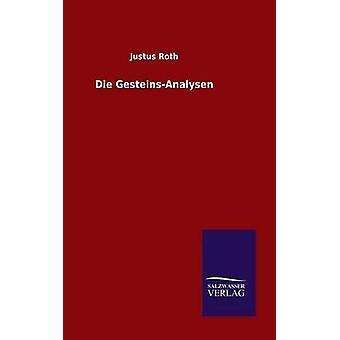 Die GesteinsAnalysen by Roth & Justus
