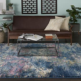 Fusion Rugs Fss17 In Blue And Multi By Nourison