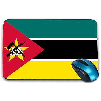 i-Tronixs - Mozambique Flag Printed Design Non-Slip Rectangular Mouse Mat for Office / Home / Gaming - 0119