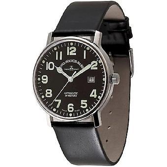 Zeno-watch mens watch business pilot automatic 3644-a1