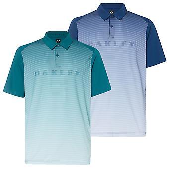 Oakley Mens 2019 J Joyce Gradient Brand Golf Lightweight Polo Shirt