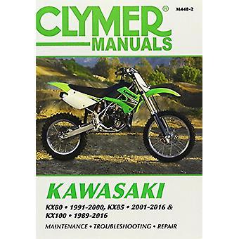 Kawasaki KX80 - KX85 & KX100 Clymer Manual - 89-16 by Anon - 978162092