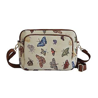 Butterfly tablet bag by signare tapestry / 13 inch / tablet-butt