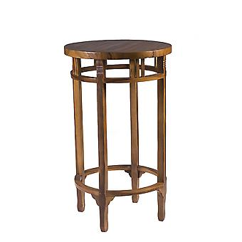Solid Weatherproof Wooden Garden Bar Table - Patio Bistro Outdoor Furniture