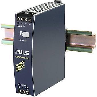 PULS DIMENSION CS5.244 Rail mounted PSU (DIN) 24 Vdc 5 A 120 W 1 x