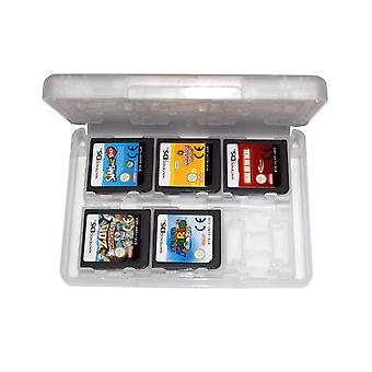 Game case for nintendo 3ds 2ds ds 24 in 1 card holder storage box - white