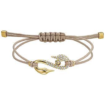 Swarovski Power Collection Bracelet - Brown - Gold-tone Plated
