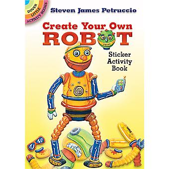 Dover Publications Create Your Own Robot Sticker Book Dov 44878