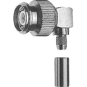 TNC connector Plug, right angle 50 Ω Telegärtner J01010A0048 1 pc(s)