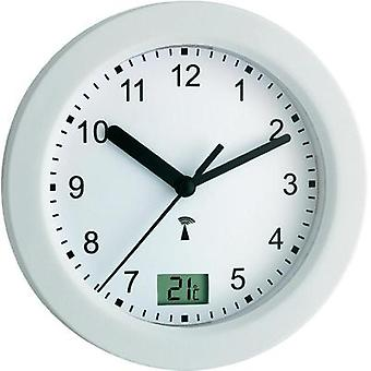 Radio reloj de pared TFA 60,3501 17,5 x 5,5 cm blanco