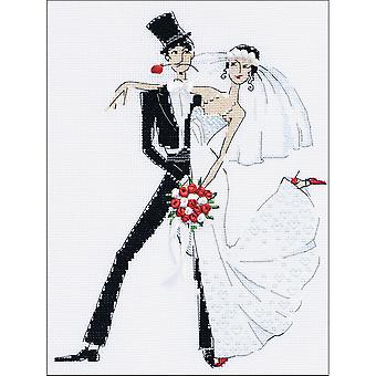 Wedding Tango Counted Cross Stitch Kit-8