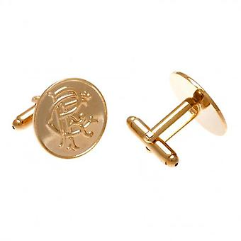 Rangers Gold Plated Cufflinks